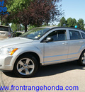 dodge caliber 2010 bright silver hatchback sxt gasoline 4 cylinders front wheel drive automatic 80910
