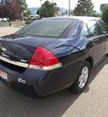 chevrolet impala 2007 blue sedan lt flex fuel 6 cylinders front wheel drive automatic 81212