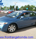 honda civic 2009 atomic blue sedan lx gasoline 4 cylinders front wheel drive automatic 80910