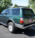 toyota 4runner 1999 green suv 5 speed 4x4 gasoline v6 4 wheel drive 5 speed manual 80012