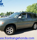 toyota highlander 2006 oasis green suv gasoline 6 cylinders all whee drive automatic 80910