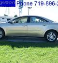 pontiac g6 2006 sedona beige sedan gasoline 6 cylinders front wheel drive not specified 80910
