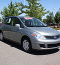 nissan versa 2011 dk  gray hatchback 1 8 s gasoline 4 cylinders front wheel drive automatic 80126