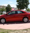toyota corolla 2010 red sedan s gasoline 4 cylinders front wheel drive automatic 80126