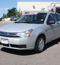 ford focus 2008 silver coupe se gasoline 4 cylinders front wheel drive 80126