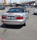 mercedes benz clk class 2001 silver clk430 gasoline 8 cylinders rear wheel drive automatic 97216