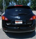 nissan murano 2009 black suv awd gasoline 6 cylinders all whee drive not specified 46219