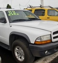 dodge durango 2003 white suv sport 4x4 gasoline 8 cylinders 4 wheel drive automatic 97216