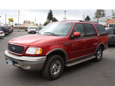 ford expedition 2002 dk  red suv eddie bauer gasoline 8 cylinders 4 wheel drive automatic with overdrive 97216