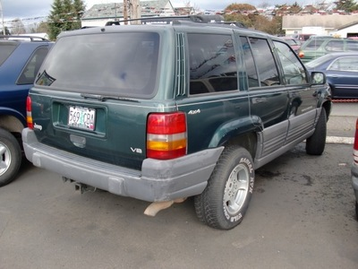 jeep grand cherokee 1996 green suv laredo gasoline 8 cylinders 4 wheel drive automatic 97216
