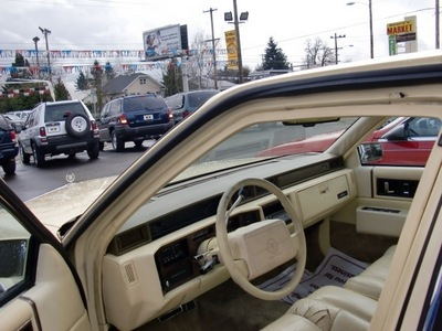 cadillac deville 1990 yellow sedan gasoline 8 cylinders front wheel drive automatic 97216
