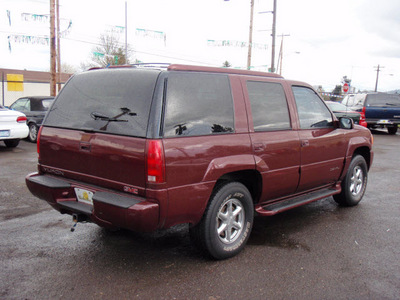 gmc yukon 1999 dk  red suv denali gasoline v8 4 wheel drive automatic with overdrive 97216
