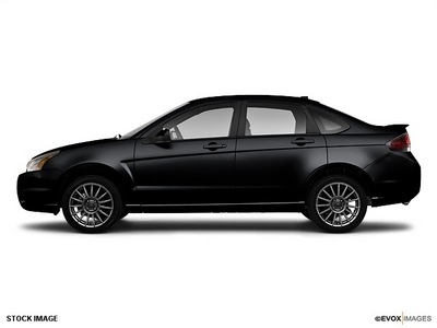 ford focus 2010 black sedan ses gasoline 4 cylinders front wheel drive automatic with overdrive 77388