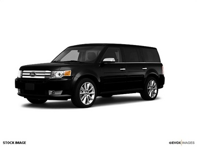ford flex 2010 black wagon limited gasoline 6 cylinders front wheel drive automatic 77388