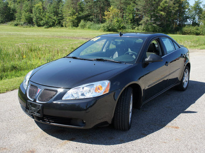 pontiac g6 2008 black sedan g6 gasoline 6 cylinders front wheel drive 4 speed automatic 44024