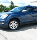 chevrolet equinox 2011 blue ltz awd gasoline 4 cylinders all whee drive automatic 45840