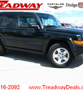 jeep commander 2008 black suv sport 4x4 gasoline 6 cylinders 4 wheel drive automatic 45840