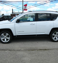 jeep compass 2011 white suv latitude gasoline 4 cylinders 4 wheel drive automatic 45840