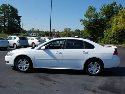 chevrolet impala 2011 white sedan lt fleet flex fuel 6 cylinders front wheel drive automatic 27330