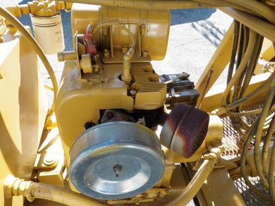 vermeer ts 44a 1989 yellow gas standard 55321