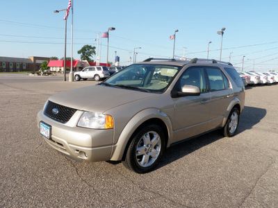 ford freestyle 2006 gold wagon limited awd gasoline 6 cylinders all whee drive cont  variable trans  55321