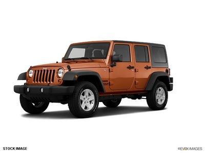 jeep wrangler unlimited 2011 orange suv sport gasoline 6 cylinders 4 wheel drive automatic 33021