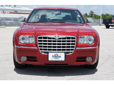 chrysler 300 2007 dk  red sedan c gasoline 8 cylinders rear wheel drive automatic with overdrive 77388