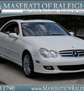 mercedes benz clk class 2009 white coupe clk350 gasoline 6 cylinders rear wheel drive shiftable automatic 27616