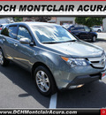 acura mdx 2008 dk  gray suv w tech gasoline 6 cylinders all whee drive automatic 07044