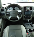 chrysler 300 2008 blue sedan touring gasoline 6 cylinders rear wheel drive automatic 33157