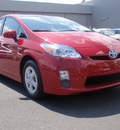 toyota prius 2010 red hatchback i hybrid 4 cylinders front wheel drive automatic 34788