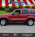 jeep liberty 2006 red suv limited gasoline 6 cylinders 4 wheel drive 4 speed automatic 44024