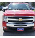 chevrolet silverado 1500 2011 red lt flex fuel 8 cylinders 2 wheel drive 6 spd auto texas ed texas 77090