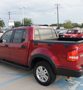 ford explorer sport trac 2008 red xlt gasoline 6 cylinders 2 wheel drive automatic 76210