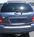 kia sorento 2003 blue suv lx gasoline 6 cylinders rear wheel drive automatic 34788