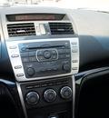 mazda mazda6 2009 gray sedan touring gasoline 6 cylinders front wheel drive automatic 76205
