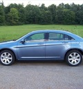 chrysler 200 2011 lt  blue sedan touring gasoline 4 cylinders front wheel drive not specified 44024