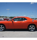 dodge challenger 2009 orange coupe r t gasoline 8 cylinders rear wheel drive 6 speed manual 77388