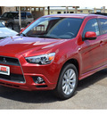 mitsubishi outlander sport 2011 dk  red se gasoline 4 cylinders front wheel drive automatic 76903