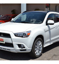 mitsubishi outlander sport 2011 white se gasoline 4 cylinders all whee drive automatic 76903