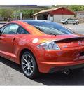 mitsubishi eclipse 2012 orange hatchback gs sport gasoline 4 cylinders front wheel drive automatic 76903
