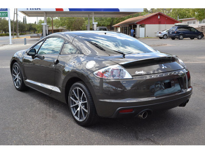 mitsubishi eclipse 2012 dk  gray hatchback gs sport gasoline 4 cylinders front wheel drive automatic 76903