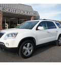 gmc acadia 2011 white suv slt 1 gasoline 6 cylinders all whee drive 6 speed automatic 99336