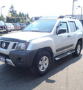 nissan xterra 2009 silver suv gasoline 6 cylinders 4 wheel drive automatic 98674