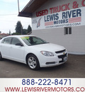 chevrolet malibu 2009 white sedan ls gasoline 4 cylinders front wheel drive automatic 98674