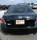 honda accord 2008 black sedan ex l gasoline 6 cylinders front wheel drive automatic 46219