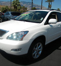 lexus rx 350 2009 white suv gasoline 6 cylinders front wheel drive automatic 92235