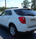 chevrolet equinox 2011 white lt gasoline 4 cylinders all whee drive automatic 27330