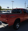 dodge ram pickup 2500 2009 red slt diesel 6 cylinders 4 wheel drive automatic 76205