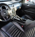 ford mustang 2008 black coupe bullitt gasoline 8 cylinders rear wheel drive 5 speed manual 60546